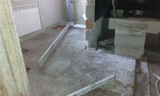 Бетонні роботи опалення сантехник