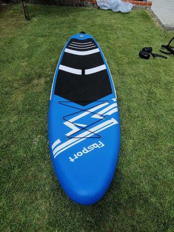 Prancha de Paddle inflável com remo ajustável