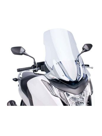 Honda Integra 750 szyba turystyczna i tylny błotnik carbonowy