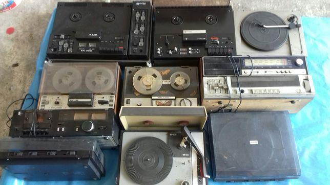 Zestaw sprzętu Unitra/Unitra Aria/Dama Pik/Kasprzak/Colorofon