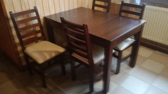 Stół + 4 krzesła zestawy