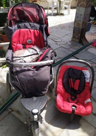 Carrinho bebê trio