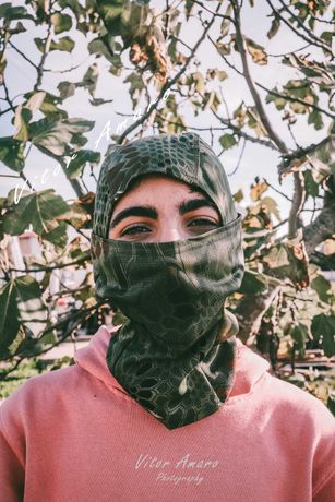 Máscara Facial Camuflada para Caça/Exército/Airsoft Nº13   NOVA