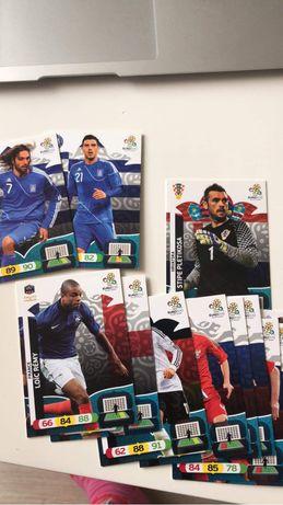 Karty piłkarskie 1257