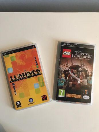 Gra PSP Piraci z Karaibów, Lumines puzzle fusion