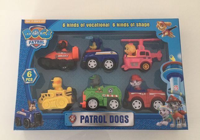 Psi Patrol 6 pojazdów z napędem Nowe