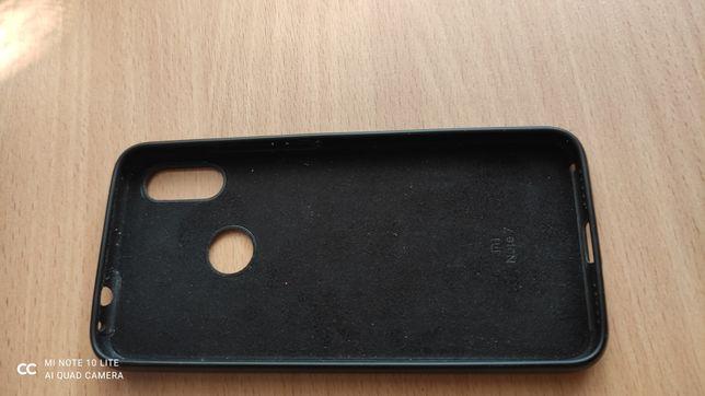 Резиновый оригинальний чехол для redmi note 7