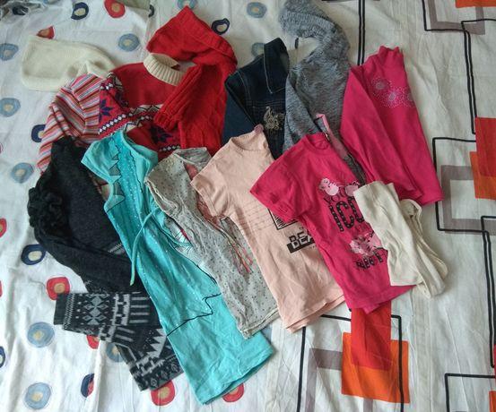 Пакет одежды для девочки р.134