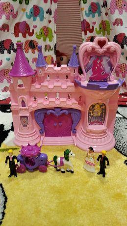 Замок принцессы, замок музыкальный и светящийся