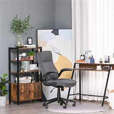 Cadeira de escritório ergonômica, giratória Altura ajustável - NOVA