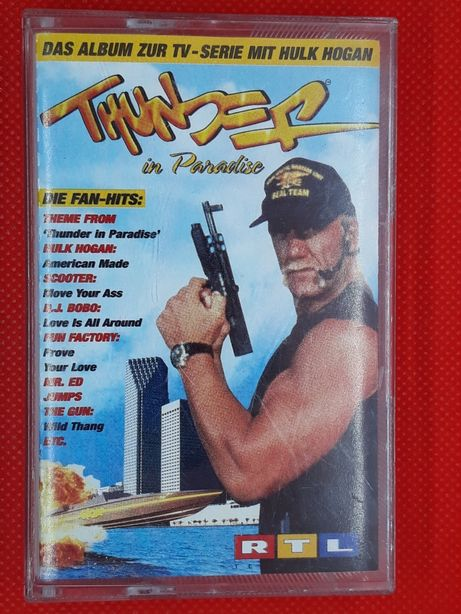 Kaseta Thunder In Paradise Grom w Raju Hulk Hogan