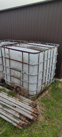 Mauzer zbiornik na wodę 1000L