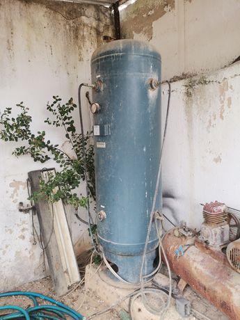Compressores, depósito de ar comprimido 500 litros + ferramentas de ar