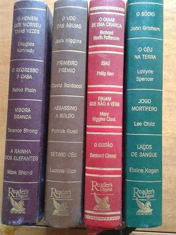 Colectânea de livros do Reader's Digest - 4 volumes (BAIXA DE PREÇO)
