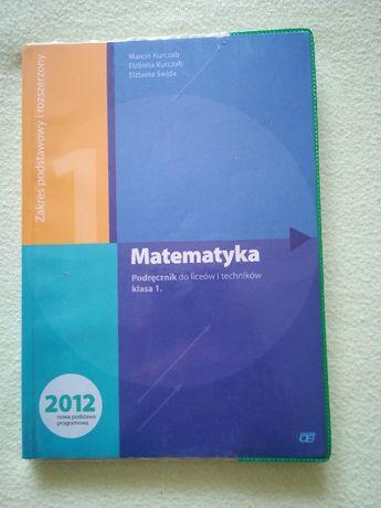 Matematyka - podręcznik2013 do liceów i techników klasa 1