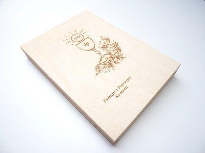 Pudełko na płytę cd zdjęcia film + pendrive PAMIĄTKA I KOMUNII