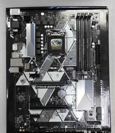 Материнская плата Asus B365 - Plus + процессор Intel Core i3 8100
