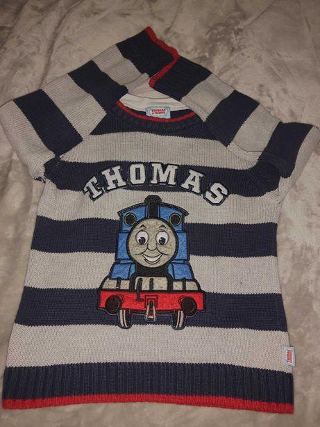 Sweterek Tomek i przyjaciele dla 4-5 latka