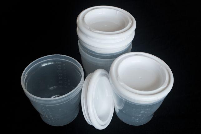 Контейнеры для грудного молока 180 и 200 мл.