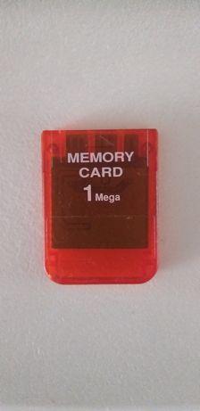 Cartão memória 1Mega PlayStation 1