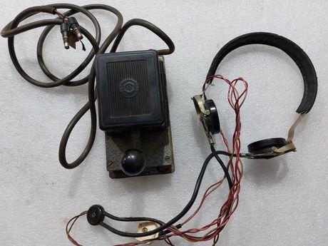 Телеграфный ключ наушники