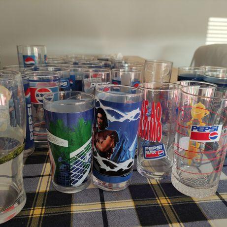 Copos Pepsi coleccionáveis
