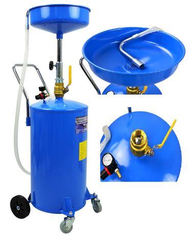 Zlewarka pneumatyczna do oleju 70L