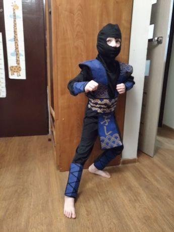 zarezerwowany do 23.01.Strój karnawałowy, wojownik ninja, bal, kostium