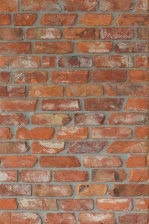 Płytki ze starej cegły płytki z cegły stara cegła lico 19zł/m2