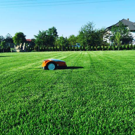 Trawniki z rolki i siewu, automatyczne systemy nawadniania WROCŁAW