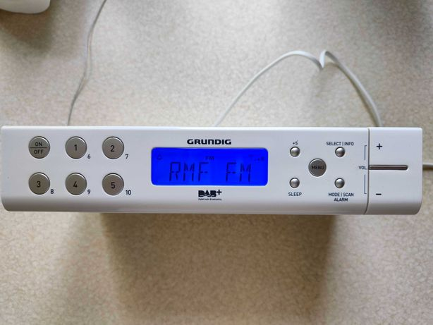 Grundig Sonoclock 691 DAB+ 100% sprawne radio kuchenne FM DAB+