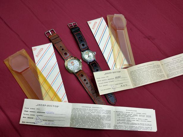 Годинники Восток 1993-94р випуску раритет як нові