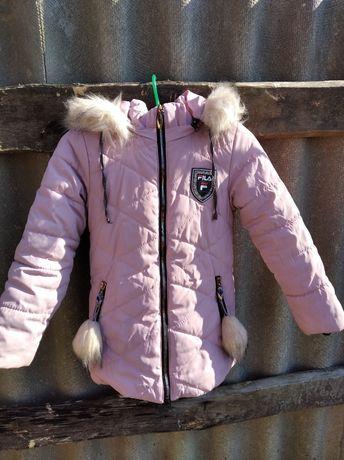 Зимняя курточка на 8лет