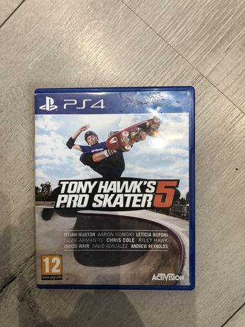 Tony Hawk's pro skater 5 ps4