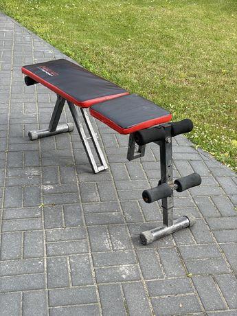 Ławeczka płaska, ławka, treningowa, domowa siłownia