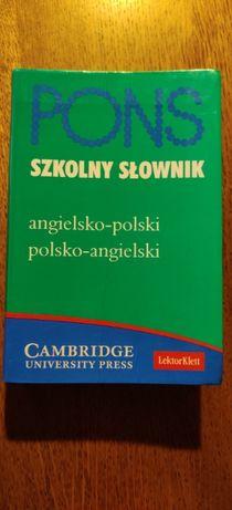 Pons szkolny słownik angielsko-polski polsko-angielski Cambridge