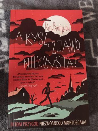 książka A kysz zjawo nieczyta Kyril Bonfiglioli