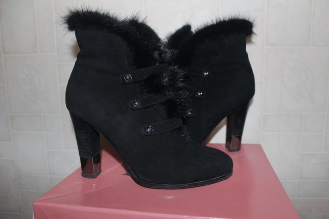 Зимние сапоги замш,зимові чоботи,ботильони,сапожки,ботинки кожа