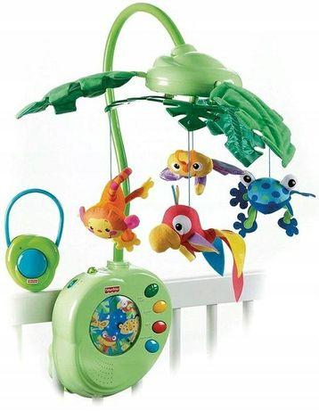 Karuzela muzyczna Rainforest Fisher Price FPK3799