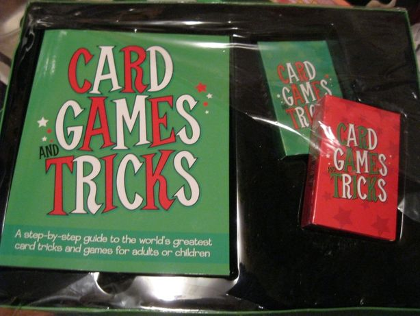 настольная игра карточная 2 колоды книга на английском языке tricks