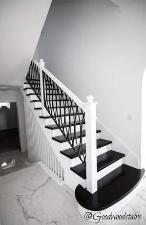 Ограждение лестниц. Перила. Огорожа сходів. Поручни