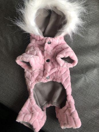 Darmowa wysyłka! Śliczne nowe rożowe ubranko dla psa S XS york