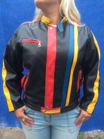 Мото куртка женская