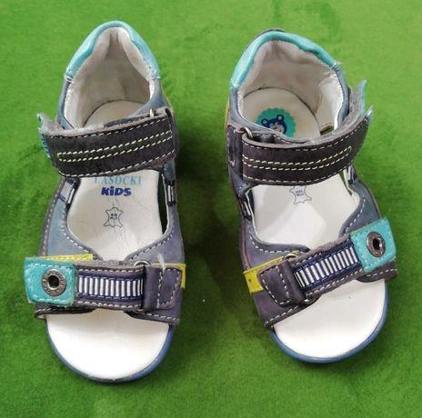 Skórzane sandały chłopięce Lasocki Kids r. 20