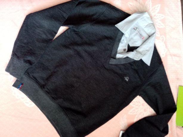 5 штук Кофта рубашка желетка