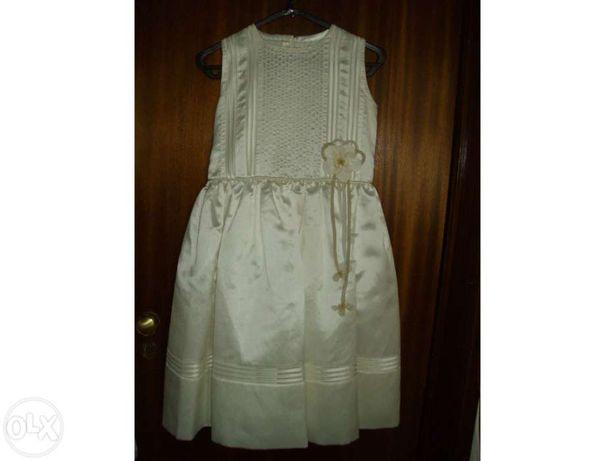 Vestido de Comunhão ou para Cerimónia - menina 10 anos