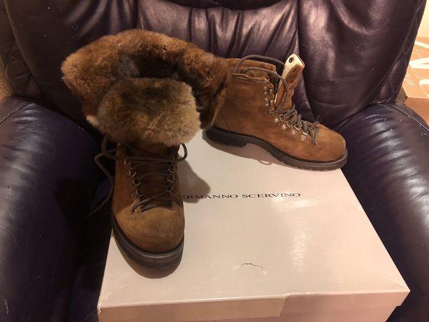 Ботинки зима 39-40размер