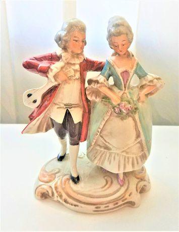 Фарфоровая статуэтка Галантная пара. Grafenthal Германия