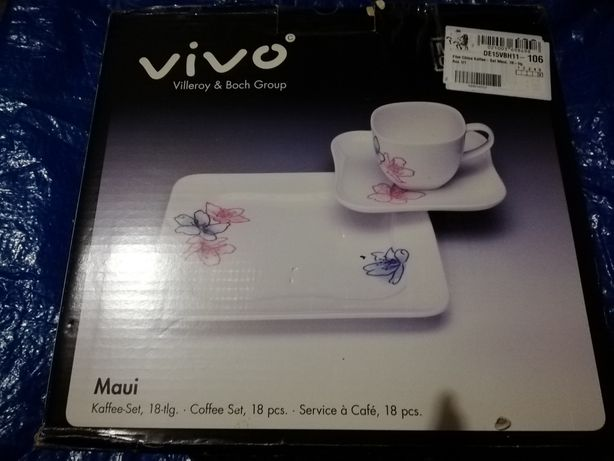 Serwis kawowy Vivo - pióro Parker gratis