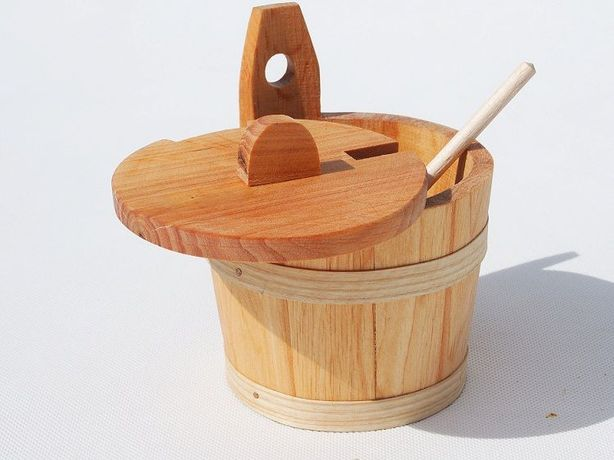 drewniana beczułka - BECZKA NA PRZYPRAWY ! EKO
